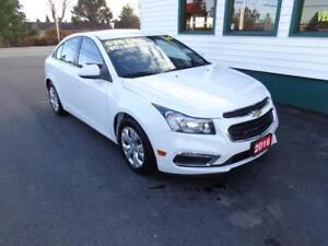 2016 Chevrolet Cruze Limited LT only $122 bi-weekly all in!