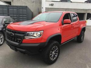 2018 Chevrolet Colorado 4WD ZR2 red V6 gas AVAILABLE