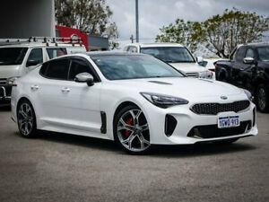 2017 Kia Stinger CK MY18 GT Fastback White 8 Speed Sports Automatic Sedan Morley Bayswater Area Preview