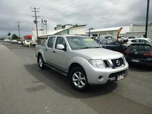 2012 Nissan Navara D40 MY12 ST (4x4) Silver 5 Speed Automatic Dual Cab Pick-up Bungalow Cairns City Preview