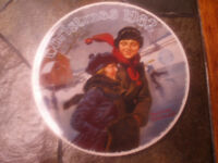 Norman Rockwell Christmas Plates