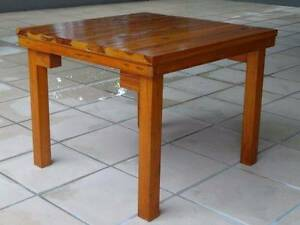 Rustic Solid Pine Square Coffee Table / Side Table Wollongong Wollongong Area Preview