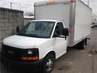 2014 GMC SAVANA 3500 cutaway cargo van