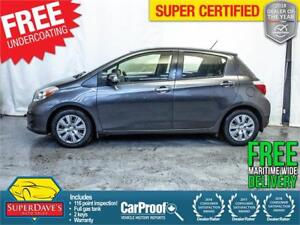 2012 Toyota Yaris 5-Door LE *Warranty* $108.44 Bi-Weekly OAC