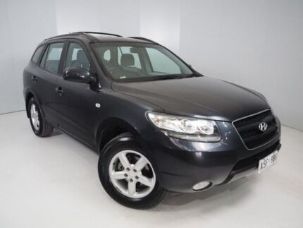 2007 Hyundai Santa Fe CM MY08 SLX Black 5 Speed Sports Automatic Wagon