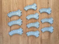 Take Along Thomas and Friends Split Junction 6 inch CST MMF Tracks x10