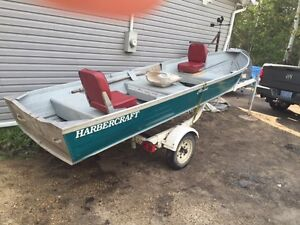 14 ft, boat,motors,cover,trailer for sale in Sandy Beach
