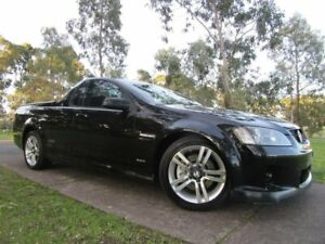 2009 Holden Ute VE MY10 SS Black 6 Speed Sports Automatic Utility Dandenong Greater Dandenong Preview