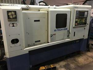 Hwacheon Hi-Tech100B CNC Lathe