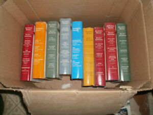 Readers Digest Novels $5 a box