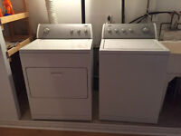 Laveuse + Secheuse Whirlpool à vendre | For sale Washer + Dryer