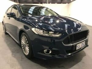 2016 Ford Mondeo MD TITANIUM SELECTSHIFT Blue Sports Automatic Hatchback Fyshwick South Canberra Preview