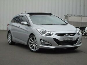2012 Hyundai i40 VF2 Premium Tourer Silver 6 Speed Sports Automatic Wagon Kings Park Blacktown Area Preview