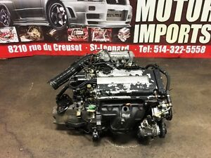 B16A SIR 88-93 CRX CIVIC INTEGRA MOTOR & CABLE MT TRANSMISSION