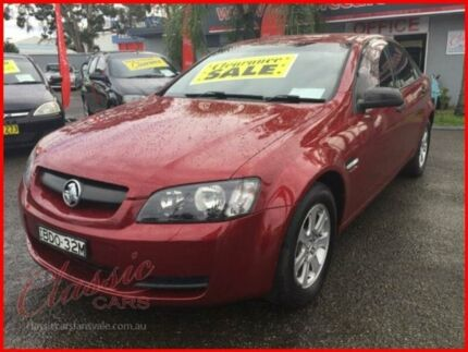 2007 Holden Commodore VE Omega Burgundy 4 Speed Automatic Sedan Lansvale Liverpool Area Preview