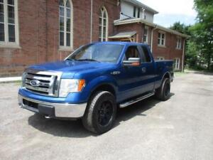 2009 Ford F-150 BLUE WITH NICE WHEELS! 4X4    $9,999
