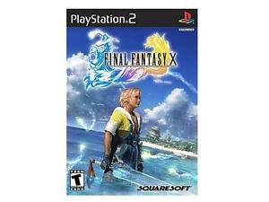 Final Fantasy X PlayStation 2 (PS2) Game SQUARE ENIX