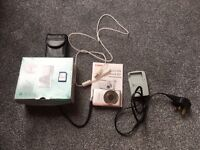 Canon Ixus 105 12.1 MP digital camera and accessories