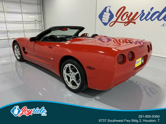 2004 Red Chevrolet Corvette Convertible  | C5 Corvette Photo 6