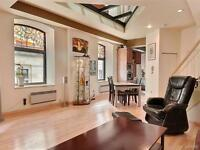 1085SQFT 2 LEVELS LOFT FOR SALE OLD MONTREAL