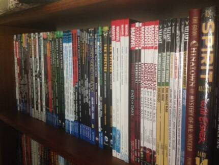Graphic Novels for Sale DC Marvel Valiant Indie Batman Daredevil