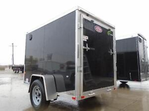 5x8 LIGHT WEIGHT NEO - EASY TO TOW - GREAT ALUMINUM TRAILER! London Ontario image 4