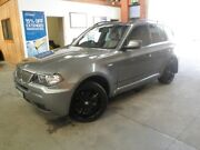 2010 BMW X3 E83 MY10 xDrive30d Steptronic Lifestyle Silver 6 Speed Automatic Wagon Heidelberg West Banyule Area Preview