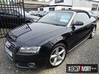 Audi A5 2.0T FSI S Line 2dr [Start Stop] + BLACK LEATHER + FULL SERVICE HISTORY (black) 2011