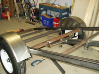 Utility trailer repair - Light / Medium welding