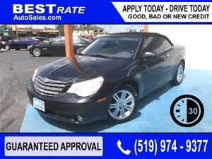 CHRYSLER SEBRING LTD CONVERTIBLE - ANY CREDIT LOANS!