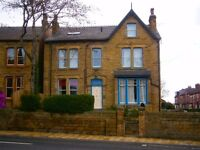 2 Large study-bedrooms available in student house-share in Chapeltown - Ideal for NSCD Students!