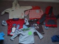 bundle of baby boy clothes size 12-18 (over 40 items)