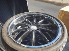 """MASS Modular 22"""" Alloy Wheels Set of 4 Berri Berri Area Preview"""