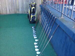 Men's RH Adams golf club set & Men's RH Ping  golf set