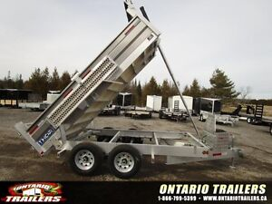 "ALL ALUMINUM 2016 SAVAGE ALUMINUM 80"" X 12 FT / 9990 LB GVWR"
