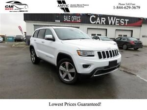 2016 Jeep Grand Cherokee Limited MOONROOF | REMOTE START | AWD