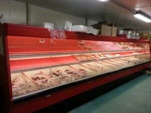 Supermarket Meat Cooler,Print Label,Dolly,Heat Wrap,Fish Tank +