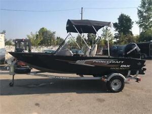 2012 Princecraft Holiday DLX 16 PIED **60 Forces**