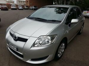 2008 Toyota Corolla ZRE152R Ascent Silver 6 Speed Manual Hatchback Georgetown Newcastle Area Preview