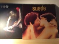 Suede - self titled first album Vinyl and Suede Bloodsports Vinyl