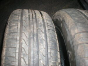 Two Tires 215-55-16 2 Months Old  Summer Tires