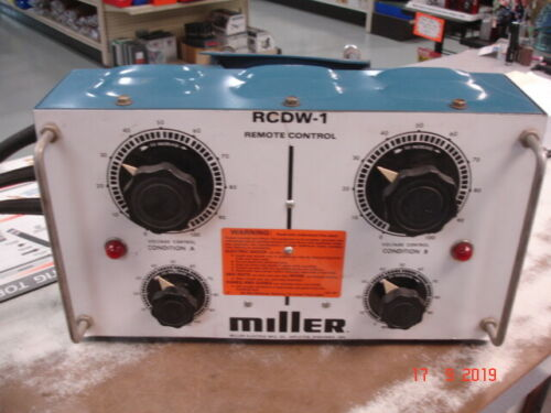 MILLER Electric RCDW-1 Remote Control 1984 Vintage  New obsolete Old Stock