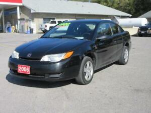 2006 Saturn Ion Quad Coupe Ion.2 Midlevel