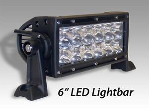 "LED Light Bar 6"" and 12"" Road Lamp"