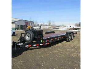 New 2015 C&B Straight Deck 24' Equipment HD Trailer Edmonton Edmonton Area image 1