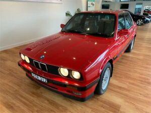 1988 BMW 320i Red 5 Speed Manual Sedan Batemans Bay Eurobodalla Area Preview