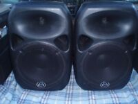 WHARFEDALE PRO TITAN 12 PASSIVE UNPOWERED SPEAKERS - PAIR - GREAT SOUND