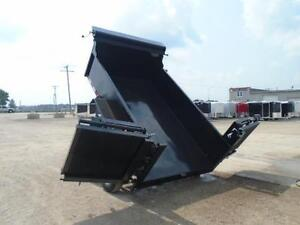 ALL PURPOSE DUMP TRAILER 6 X 12 5 TON WITH COMBO GATE QUALITY London Ontario image 7