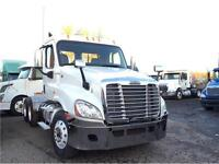 2009 FREIGHTLINER CASCADIA DAY CAB HEAVY AXLES
