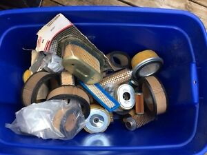 bin of various air filters for small engine equipment Peterborough Peterborough Area image 1